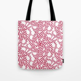 Candy cane flower pattern 7 Tote Bag