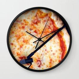 Playing Pizza Wall Clock