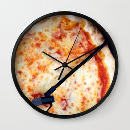 Playing Pizza Wall Clock