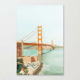 Golden Gate #architecture #california #travel Canvas Print