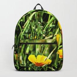 Little Orange Flowers Backpack