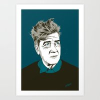 david lynch Art Prints featuring David Lynch by The Art Warriors