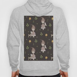Woodland Nymph - Brown Hoody