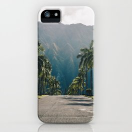 Valley of the Temples, Kaneohe, Hawaii iPhone Case