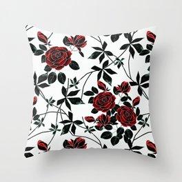 Roses. Throw Pillow