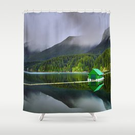 Vancouver Capilano Mountains Shower Curtain