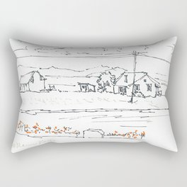 Bel Marin Keys Hi Res Large  Rectangular Pillow
