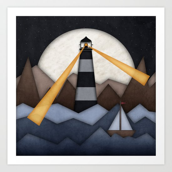 Show Me The Way To Go Home. Art Print
