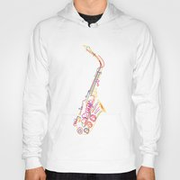 jazz Hoodies featuring Jazz by boldizo