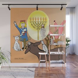 Jesus, The Light (Christian Children's Gift Products) Wall Mural