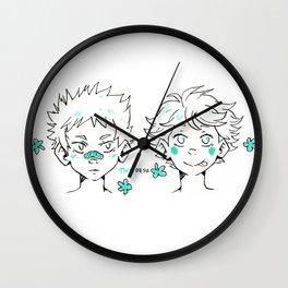 Smol Iwaoi  Wall Clock