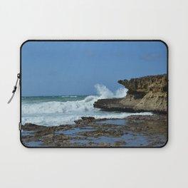 Waves Crash on Somalia Laptop Sleeve