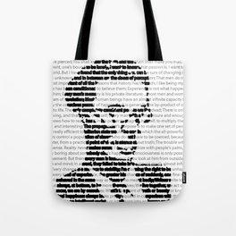 Aldous Huxley Quotes Tote Bag