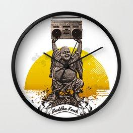 Buddha Funk Wall Clock