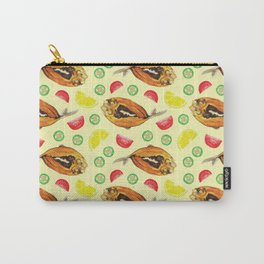 Milkfish Pattern Carry-All Pouch