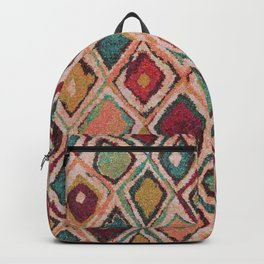 V38 EPIC ANTHROPOLOGIE MOROCCAN CARPET TEXTURE Backpack
