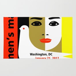 Women's March On Washington 2017 Rug