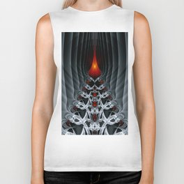 Fractal Art by Sven Fauth - Path to hell Biker Tank