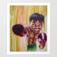 "pac man Art Prints featuring ""Pac Man"" by Basic Lee"