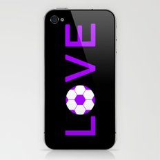 Soccer Love iPhone & iPod Skin