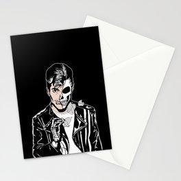 Alex Turner Skull Art by zombieCraig Stationery Cards