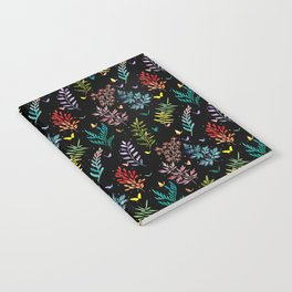 leaves dark Notebook