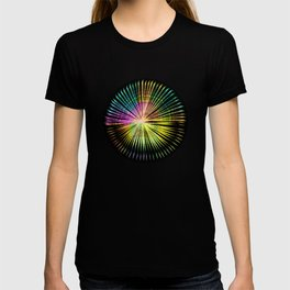 ...a simple kind of abstract mandala T-shirt