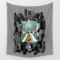 ilovedoodle Wall Tapestries featuring Secret Garden by I Love Doodle