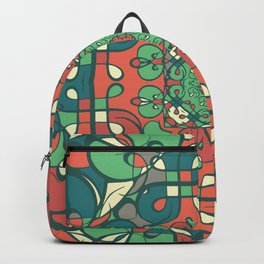 Traditional pattern design Backpack