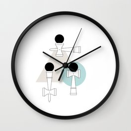 Kendama / passion obsession 1.1 Wall Clock