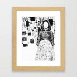 The Keymaker's Bride Framed Art Print