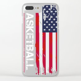 Basketball, Ballers, Dunkers & Players Premium product Clear iPhone Case