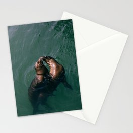Kissing Seals - Romantic vibes  Stationery Cards