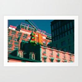 City Jam Art Print