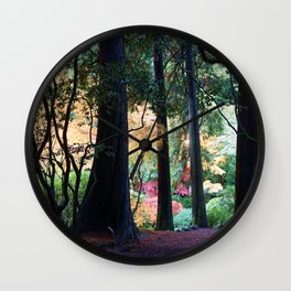 Colorful Maples  Wall Clock