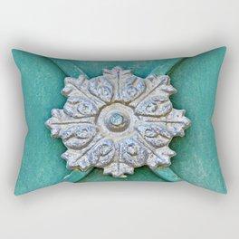 Door Detail - Old City Jerusalem Rectangular Pillow