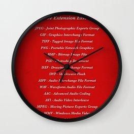 Essentials Wall Clock