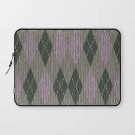 Pink Roses in Anzures 1 Argyle 1 Laptop Sleeve