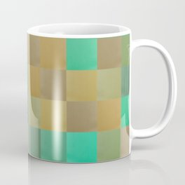 Zig-zag edged felt patchwork II Coffee Mug