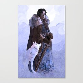 It's Winter Time Canvas Print