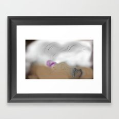 Up in Smokes Framed Art Print