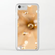 Queen Anne's Lace in Gold Clear iPhone Case