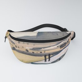 Notre Dame cathedral abstract Fanny Pack