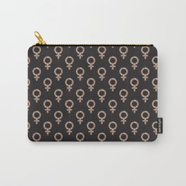 Fearless Female Black Carry-All Pouch