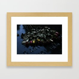 The Flowers Knelt Framed Art Print