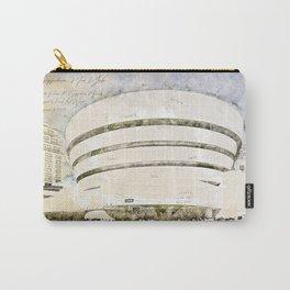 Guggenheim Museum, New York USA Carry-All Pouch