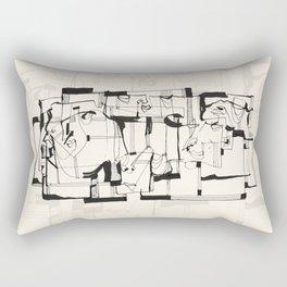Start From Scratch Rectangular Pillow