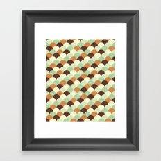 Ecailles #1 Framed Art Print