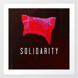 Solidarity : Pink Pussyhat - Pussycat Project Art Print