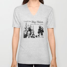Until our Big Skies Unisex V-Neck